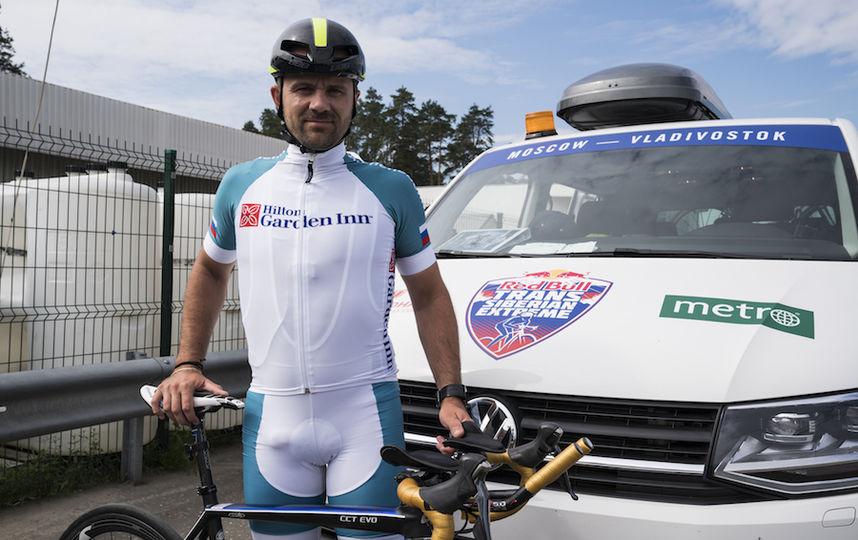 Алексей Щебелин велогонщик