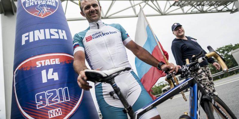 Россиянин Алексей Щебелин стал победителем Red Bull Trans-Siberian Extreme 2017
