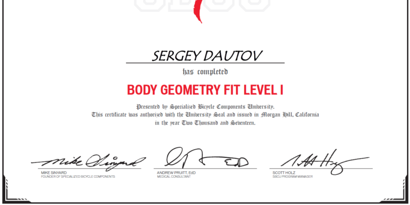 Body Geometry Fit